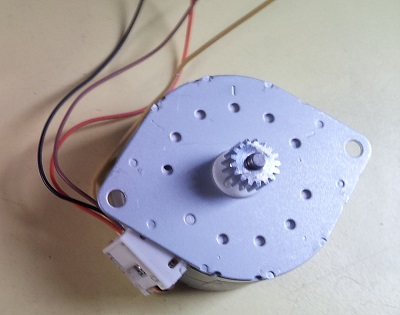 How to use stepper motors from old printers, identify pin outs